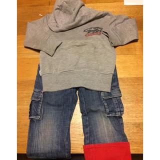 トミーヒルフィガー(TOMMY HILFIGER)の子どもセット服 95 トミーフィルフィガーズボン(その他)