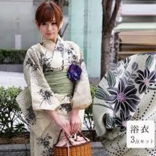 【utatane 麻の葉】浴衣3点セット