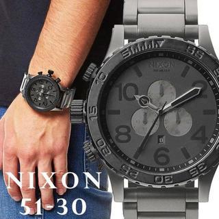 ニクソン(NIXON)の☆セール品☆ メンズ ニクソンウォッチ 《新品》 A083-1062 ブラック(腕時計(アナログ))