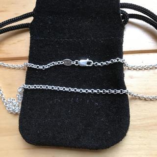 クロムハーツ(Chrome Hearts)の正規品 クロムハーツ ロールチェーン 18インチ 45cm 極美品(ネックレス)
