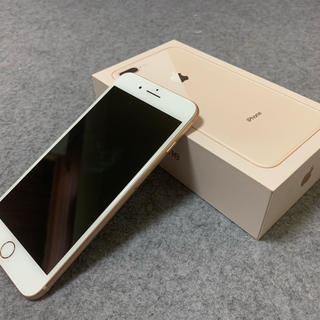 アップル(Apple)のiPhone8 Plus 256GB SIMロック解除品(スマートフォン本体)