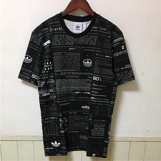 アディダス(adidas)の新品未使用タグ付き アディダス Tシャツ サイズM ナイキ ステューシー(Tシャツ/カットソー(半袖/袖なし))