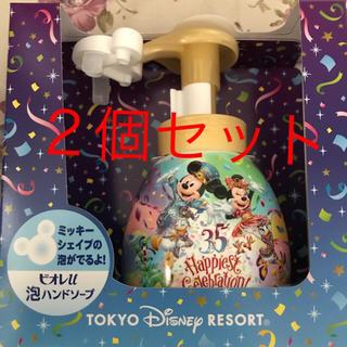 ディズニー(Disney)のディズニーリゾート限定! ミッキー型 ハンドソープ 2個セット!(キャラクターグッズ)