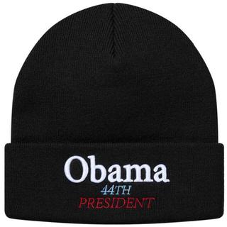 シュプリーム(Supreme)の国内正規品 18fw Supreme Obama Beanie 黒(ニット帽/ビーニー)