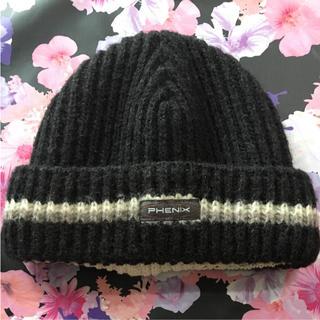 PHENIX ニット帽(ニット帽/ビーニー)