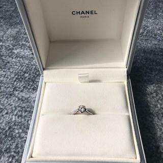 シャネル(CHANEL)のCHANEL 婚約指輪 エンゲージリング カメリア(リング(指輪))