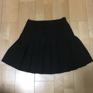 ウィゴー(WEGO)の黒プリーツ(ミニスカート)