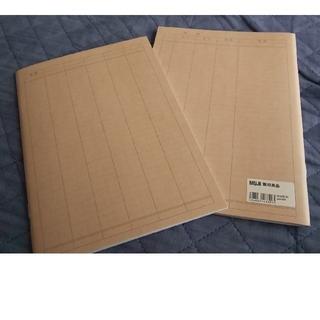ムジルシリョウヒン(MUJI (無印良品))の無印  家計簿 2冊セット(ノート/メモ帳/ふせん)
