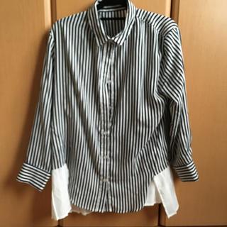 MOCAストライプシャツ(シャツ/ブラウス(長袖/七分))