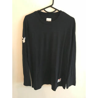 シュプリーム(Supreme)のSupreme x Playboy シュプリーム プレイボーイ football(Tシャツ/カットソー(七分/長袖))