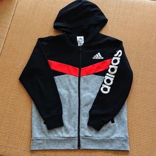 アディダス(adidas)のアディダス パーカー ジップアップ 男の子150 adidas(ジャケット/上着)