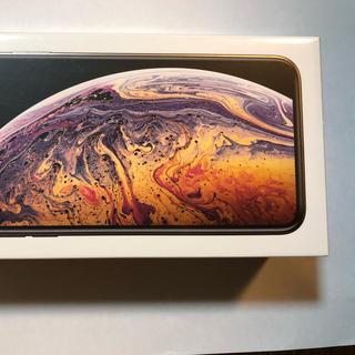 アップル(Apple)のApple iPhone XS MAX 256GB Gold 国内SIMフリー版(スマートフォン本体)