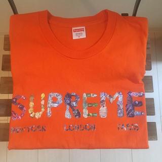 シュプリーム(Supreme)のsupreme rocks tee XL オレンジ(Tシャツ/カットソー(半袖/袖なし))