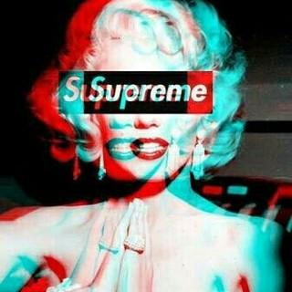 シュプリーム(Supreme)のシュプリーム ゴンズ ビーニー 黒色(ニット帽/ビーニー)