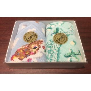 フェイラー(FEILER)の新品 ANA限定 フェイラー 2枚セット バンビ シュニール織 ハンカチ タオル(ハンカチ)