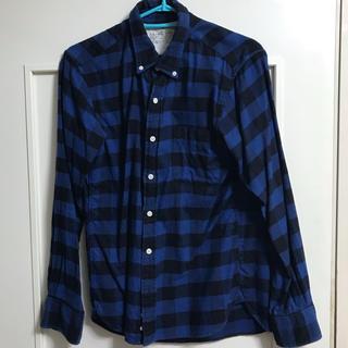 チェックシャツ 無印良品