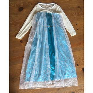 エルサ ドレス 120〜130cm アナ雪 プリンセス(ドレス/フォーマル)