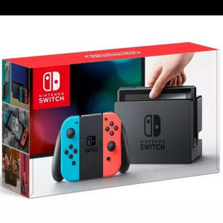 ニンテンドースイッチ(Nintendo Switch)の新品 ニンテンドースイッチ ネオンカラー(家庭用ゲーム本体)