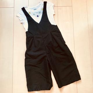 子供服女の子 Tシャツサロペットセット  まとめ売り(ワンピース)
