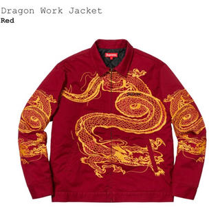 シュプリーム(Supreme)のsupreme Dragon work jacket(ワークパンツ/カーゴパンツ)