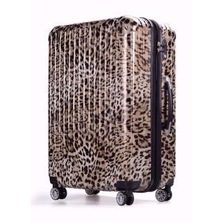小型スーツケース キャリーケース  Sサイズ ヒョウ柄