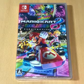 ニンテンドースイッチ(Nintendo Switch)の新品◇ マリオカート8  デラックス パッケージ版(家庭用ゲームソフト)