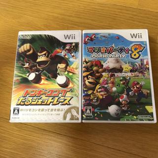 ウィー(Wii)のWii ドンキーゴング マリオパーティ(家庭用ゲームソフト)