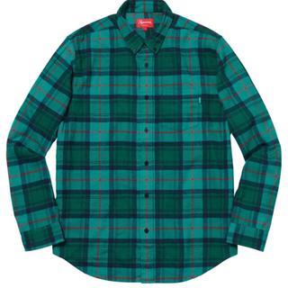 シュプリーム(Supreme)のTartan L/S Flannel Shirt S 緑 最安値(シャツ)