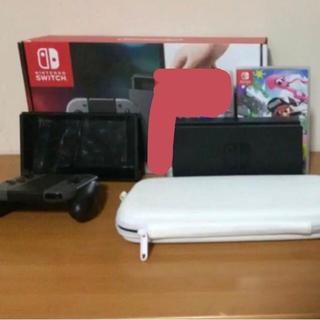 ニンテンドースイッチ(Nintendo Switch)の任天堂スイッチセット 保証つき(家庭用ゲーム本体)
