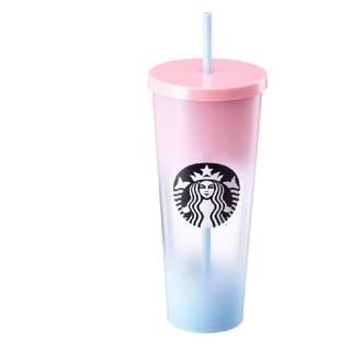 スターバックスコーヒー(Starbucks Coffee)のサンセットグラデーションコールドカップ 新品 韓国 スタバ 海外 スターバックス(タンブラー)