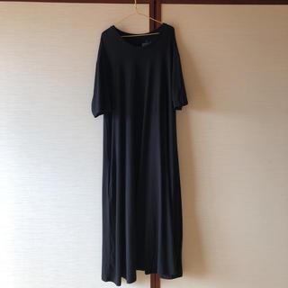 MUJI (無印良品) - 無印良品 ワンピース ブラック