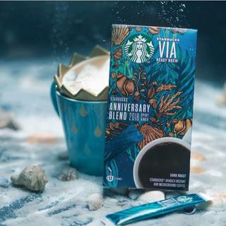 スターバックスコーヒー(Starbucks Coffee)のスタバVIAアニバーサリーブレンド 12本入り(コーヒー)