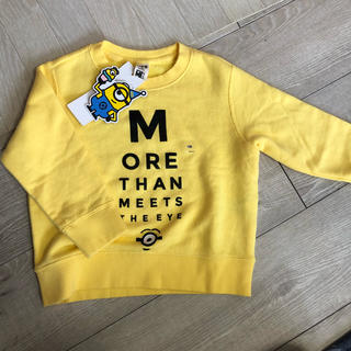 ユニクロ(UNIQLO)のUNIQLO×ミニオン スエットシャツ(Tシャツ/カットソー)