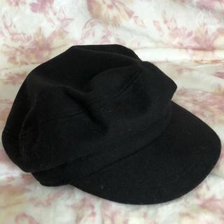 ジーユー(GU)のぴぴ様専用  GU マリン キャップ 帽子 黒(キャップ)