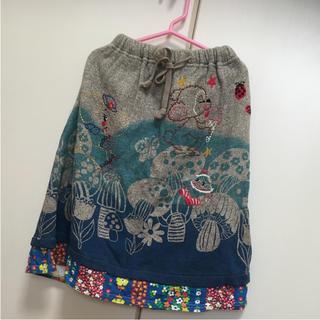 グラグラ(GrandGround)のグラグラ サイズ4 きのこの森 スカート(スカート)