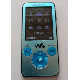 ソニー(SONY)のSONY(ソニー) Walkman NW-S636F 4GB(ポータブルプレーヤー)