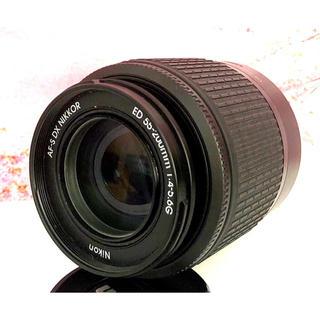 ニコン(Nikon)のコンパクトで軽量❤️大人気望遠レンズ❤️NIKON 55-200mm (レンズ(ズーム))