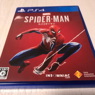 プレイステーション4(PlayStation4)の美品 送込 スパイダーマン PS4(家庭用ゲームソフト)