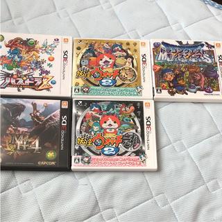 ニンテンドウ(任天堂)の3DS ゲームソフト まとめ売り!(家庭用ゲームソフト)