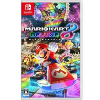 ニンテンドースイッチ(Nintendo Switch)の任天堂スイッチ マリオカート8 デラックス(家庭用ゲームソフト)