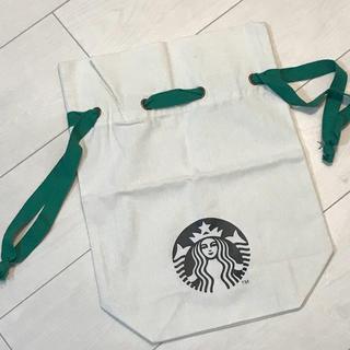 スターバックスコーヒー(Starbucks Coffee)のスターバックスコーヒー@日本未発売 未使用 布袋 巾着袋(ノベルティグッズ)