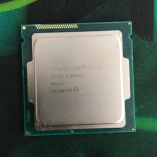 インテレクション(INTELECTION)のIntel core i4790 CPU(PCパーツ)