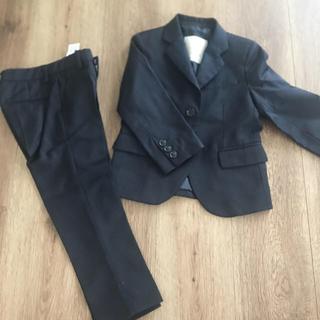 ザラ(ZARA)のzara スーツ ネイビー(ドレス/フォーマル)