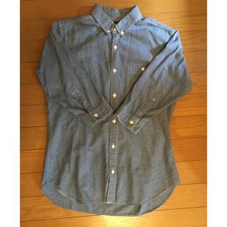 アンドエー(And A)のAnd.A 五分袖 デニムシャツ メンズ 42 胸ポケット アンドエー(シャツ)