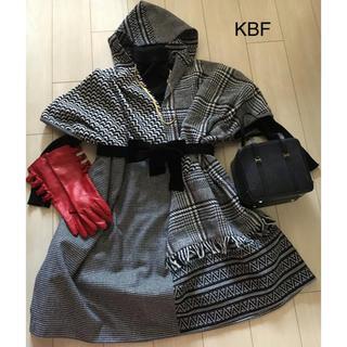 ケービーエフ(KBF)のKBF☆個性的なポンチョ フード付フリーサイズ(ポンチョ)