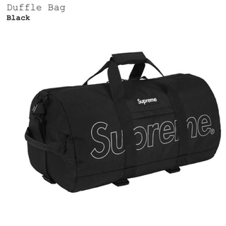 シュプリーム(Supreme)のsupreme ダッフルバッグ  ステッカー付 最安値(ボストンバッグ)