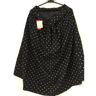 シマムラ(しまむら)のスカート 黒 ドット(ロングスカート)