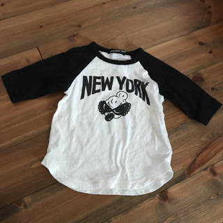ヒステリックミニ(HYSTERIC MINI)のヒスミニ☆ラグランTシャツ☆(Tシャツ/カットソー)