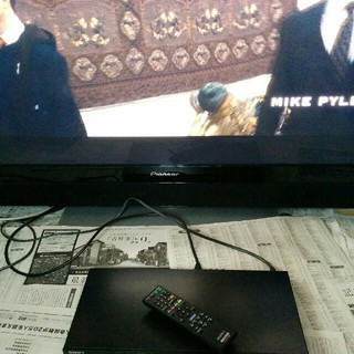 ソニー(SONY)のSONY BLU-RAY DISC/DVD PLAYER BDP-S370 送料(ブルーレイプレイヤー)