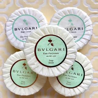 ブルガリ(BVLGARI)の🛀  ブルガリ  石鹸   10月20日までの出品となります(ボディソープ / 石鹸)